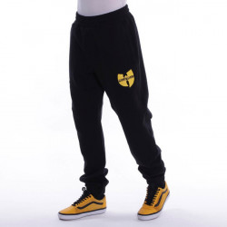 Pelle Pelle Wu-Tang Batlogo Mix sweatpants Black