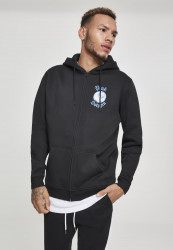 PINK DOLPHIN 8-Ball Reflection Zip Hoody Farba: black,
