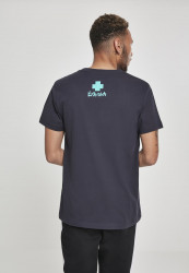 PINK DOLPHIN Letterbox Tee Farba: Navy, #2
