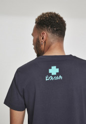 PINK DOLPHIN Letterbox Tee Farba: Navy, #4