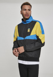PINK DOLPHIN LTD Motorsports Modena Windbreaker Farba: blk/blue/yellow,