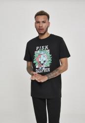 PINK DOLPHIN Plumage Tee Farba: black,