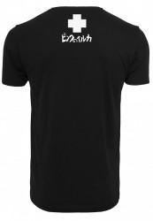 PINK DOLPHIN Plumage Tee Farba: black, #6