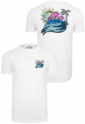 PINK DOLPHIN Roll Tide Tee Farba: white, #7