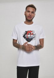PINK DOLPHIN Summer Waves Tee Farba: white,