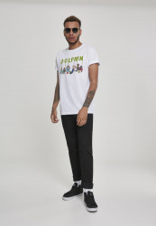 PINK DOLPHIN Supper Tee Farba: white, #4