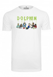 PINK DOLPHIN Supper Tee Farba: white, #5