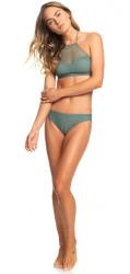 Plavky Roxy Garden Summer Fu Crop Fu Bot duck green #1