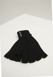 Polovičné prstové rukavice Urban Classics Half Finger Gloves 2-Pack black
