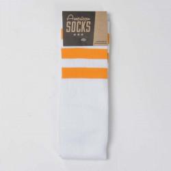 Ponožky American Socks Sunrise - Knee High white / orange - orange - orange