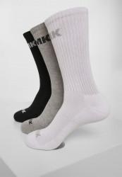 Ponožky MR.TEE AMK Socks 3-Pack Farba: black/grey/white,
