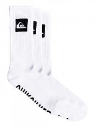 Ponožky Quiksilver 3 Crew Pack white 40-45