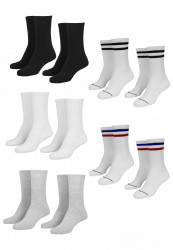 Ponožky Urban Classics Sporty Socks 10-Pack 35-50: 47-50