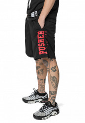Pusher Athletics Mesh Short Farba: black,