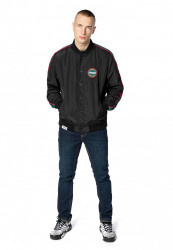 Pusher College Jacket Farba: charcoal,
