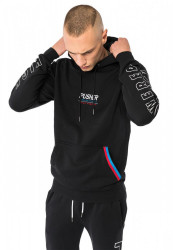 PUSHER High Powered Hoody Farba: black,