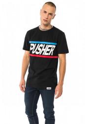 PUSHER More Power Tee Farba: black, #3