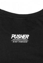 PUSHER More Power Tee Farba: black, #8
