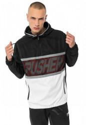 PUSHER Pánska bunda Mesh Windbreaker Farba: black,