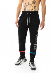 PUSHER Pánske tepláky More Power Sweatpants Farba: black,