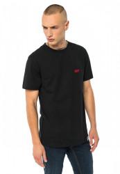 PUSHER Pánske tričko PSHR Tee Farba: black,