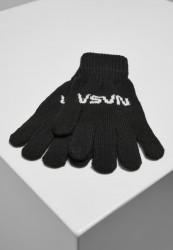 Rukavice MR.TEE NASA Knit Glove Farba: black,