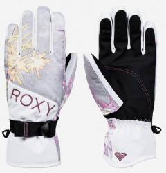 Rukavice Roxy Jetty micro chip edelweiss