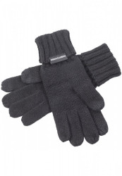 Rukavice Urban Classics Knit Gloves čierne
