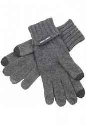 Rukavice Urban Classics Knit Gloves tmavošedé