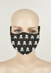 Rúško MR.TEE Skull Face Mask 2-BALENIE