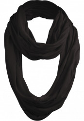 Šál MSTRDS Wrinkle Loop Scarf black
