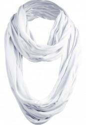 Šál MSTRDS Wrinkle Loop Scarf white