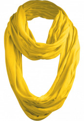 Šál MSTRDS Wrinkle Loop Scarf yellow