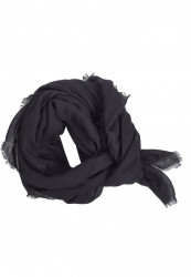 Šál Urban Classics One Color Scarf black