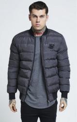 SIK SILK Pánska bunda SikSilk  Aero Jacket - Grey