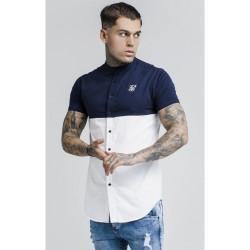 SIK SILK Pánska košeľa SikSilk S/S Cut