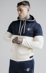 SIK SILK Pánska mikina SikSilk Agility Deluxe Zip Through
