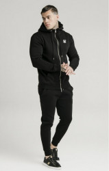 SIK SILK Pánska mikina SikSilk Zip Through Funnel Neck #2
