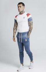 SIK SILK Pánske béžové tričko s krátkym rukávom SikSilk S/S Raglan Sprint #2