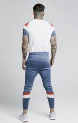 SIK SILK Pánske béžové tričko s krátkym rukávom SikSilk S/S Raglan Sprint #3