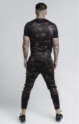 SIK SILK Pánske maskáčové tričko SikSilk Raglan Tech Tee Farba: CAMO, #4