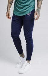 SIK SILK Pánske modré tepláky SikSilk Zonal Pants Farba: Modrá,