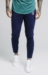 SIK SILK Pánske modré tepláky SikSilk Zonal Pants Farba: Modrá, #1