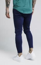 SIK SILK Pánske modré tepláky SikSilk Zonal Pants Farba: Modrá, #3