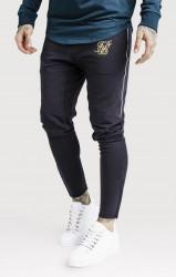 SIK SILK Pánske modré tepláky SikSilk Zonal Track Pants Cobalt Farba: Čierna,Modrá,