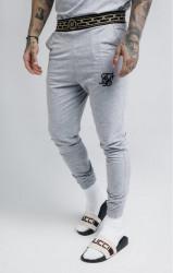 SIK SILK Pánske tepláky SikSilk Cartel Lounge Pants - Grey