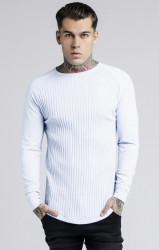 SIK SILK Pánske tričko s dlhým rukávom SikSilk Rib L/S