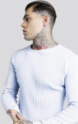 SIK SILK Pánske tričko s dlhým rukávom SikSilk Rib L/S #1