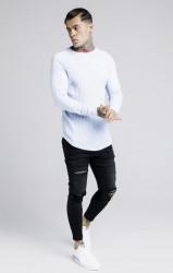 SIK SILK Pánske tričko s dlhým rukávom SikSilk Rib L/S #2