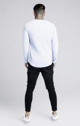 SIK SILK Pánske tričko s dlhým rukávom SikSilk Rib L/S #3